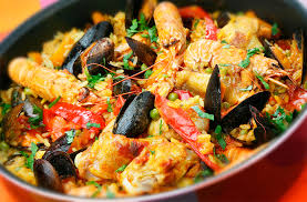An Evening in Spain - Paella & more ~ Chef Frances