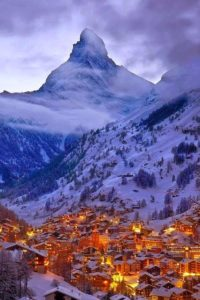 Winter Dinner from the Swiss Alps ~ Chef Malcolm Jessop